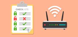 PC-Hilfe Sicherheitscheckliste Router